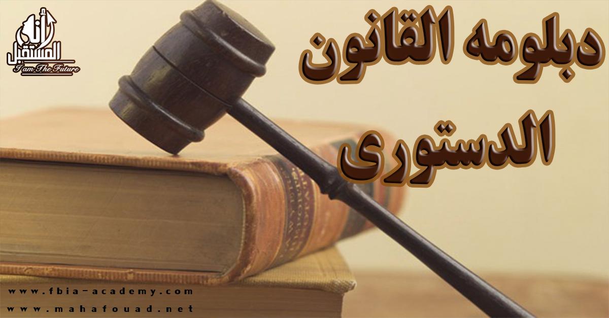 القانون الدستورى